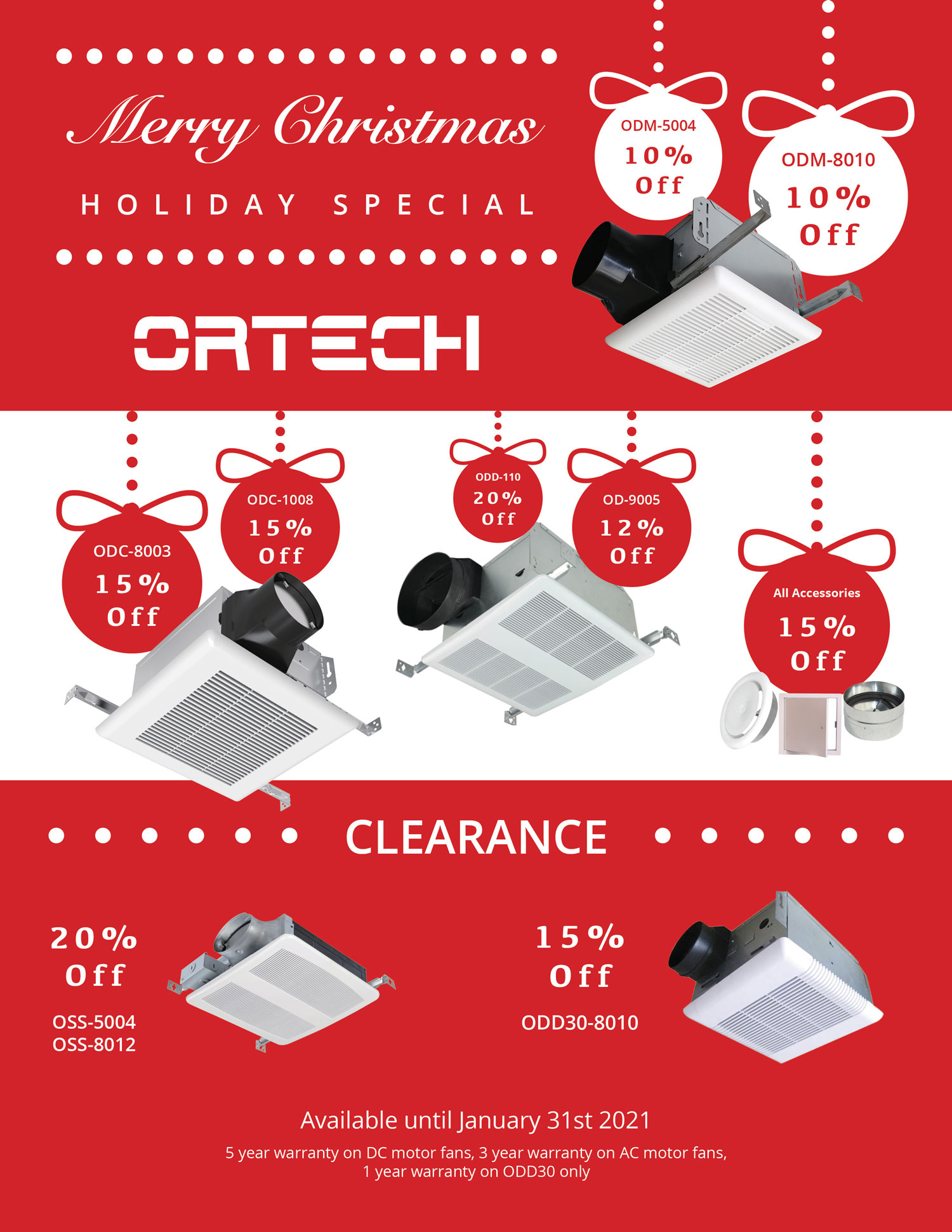 Holiday Special Sale-Ventilation
