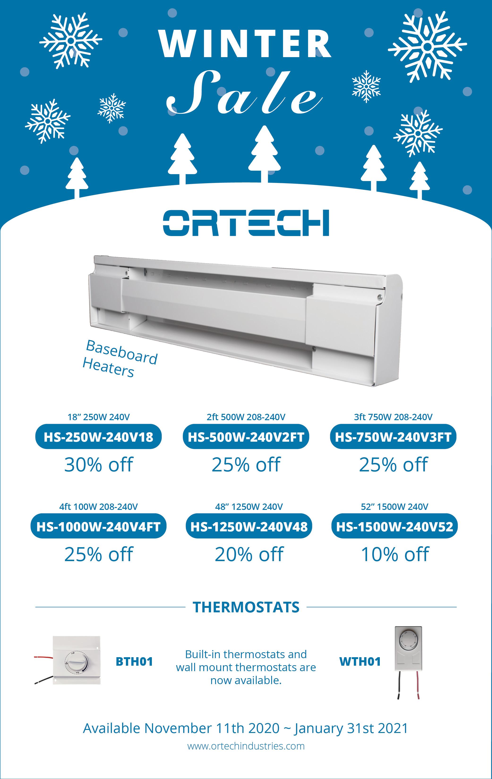 Winter Sale - Heaters